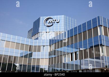 Headquarters of MTU Aero Engines Holding AG in Munich, Germany - Stock Photo