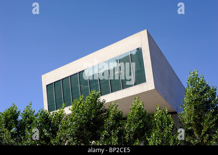 italy, rome, maxxi, national museum of contemporary art, architect zaha hadid - Stock Photo