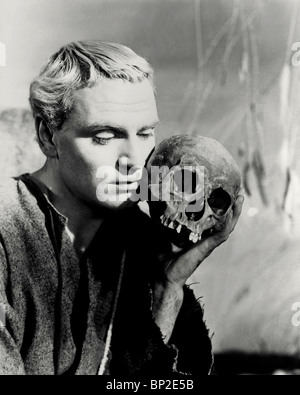 LAURENCE OLIVIER HAMLET (1948) - Stock Photo