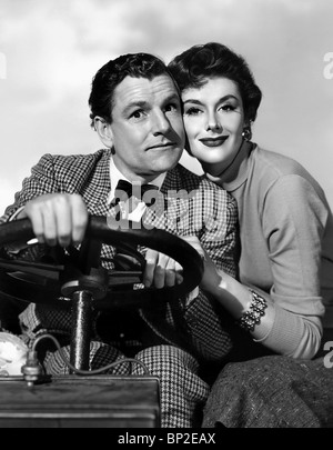 KENNETH MORE, KAY KENDALL, GENEVIEVE, 1953 - Stock Photo