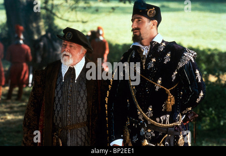 RICHARD ATTENBOROUGH, ERIC CANTONA, ELIZABETH, 1998 - Stock Photo