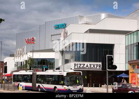 UK, England, Lancashire, Bury, The Rock city centre retail and leisure development - Stock Photo
