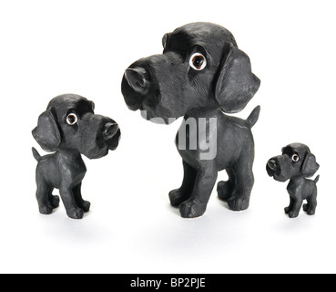 Dog Figurines - Stock Photo