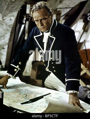 MARLON BRANDO MUTINY ON THE BOUNTY (1962) - Stock Photo