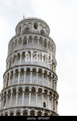 The Leaning Tower of Pisa in Pisa, Italy - Stock Photo