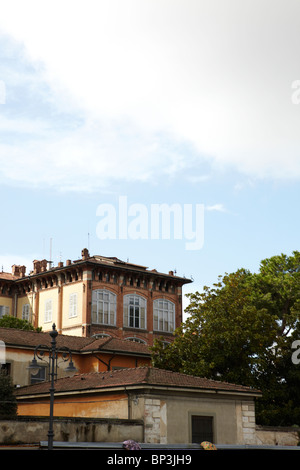 Architectural detail in Pisa, Italy - Stock Photo