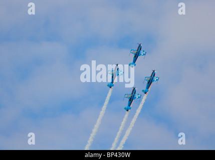 Blades aerobatic display team - Stock Photo