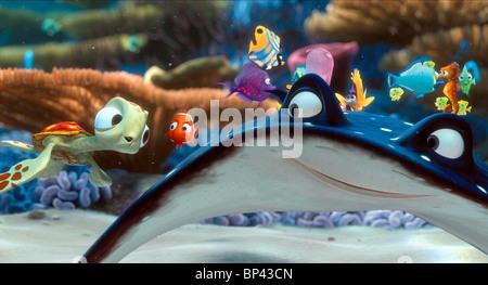 SQUIRT NEMO & MR. RAY FINDING NEMO (2003) - Stock Photo