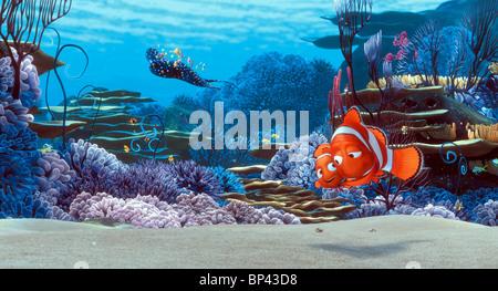 MR. RAY NEMO & MARLIN FINDING NEMO (2003) - Stock Photo