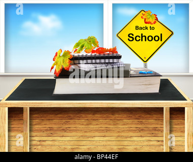 Back to school conceptual image of education & knowledge - Stock Photo