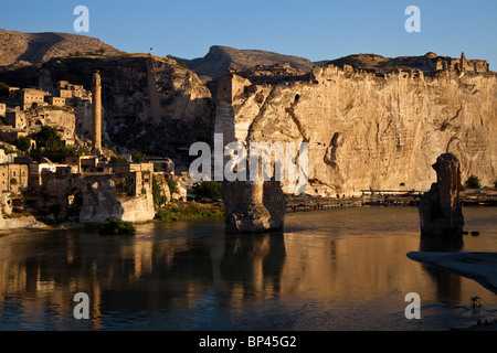 Hasankeyf in Eastern Turkey - Stock Photo