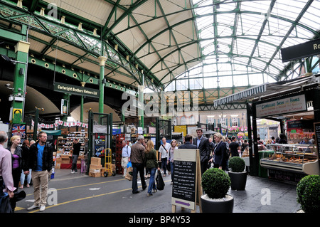 Borough Market ,Southwark ,London England UK - Stock Photo