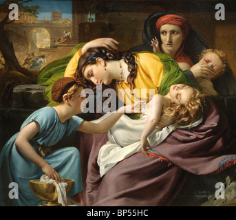 The Massacre of the Innocents, by Francois Joseph Navez (Belgian,1787-1869), Metropolitan Museum of Art, New York - Stock Photo