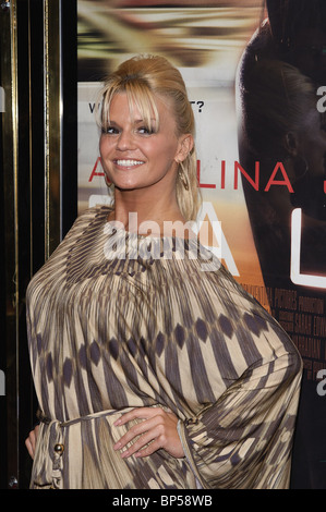 Kerry Katona attends the UK Premiere of SALT at The Empire Leicester Square, London, 16th August 2010. Picture by - Stock Photo