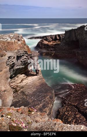 Loophead Peninsula in West Clare, Ireland - Stock Photo