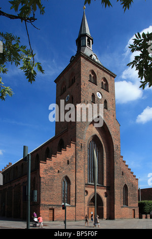 Denmark, Funen, Odense, Skt. Knuds Church, Cathedral, - Stock Photo