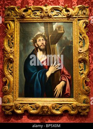 Saint Jerome as Scholar, ca. 1610, by El Greco - Stock Photo