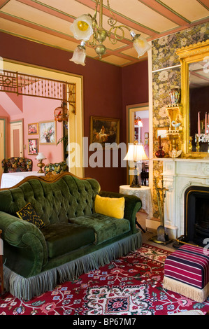 ... Interior Sitting room at The Shaw House Inn, a Victorian era Bed &  Breakfast in