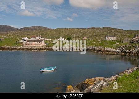 Geocrab on the Isle of Harris, Western Isles, Scotland.  SCO 6318 - Stock Photo