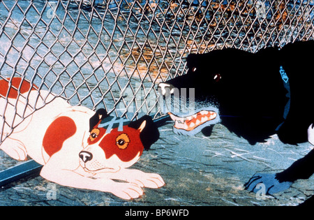 SNITTER, ROWF, THE PLAGUE DOGS, 1982 - Stock Photo
