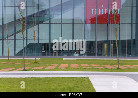 MIMA Middlesbrough Institute of Modern Art - Stock Photo