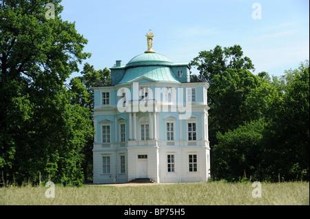 Charlottenburg Palace Schloss Tea house 'belvedere' in palace garden Charlottenburg Berlin Germany Deutschland Europe - Stock Photo