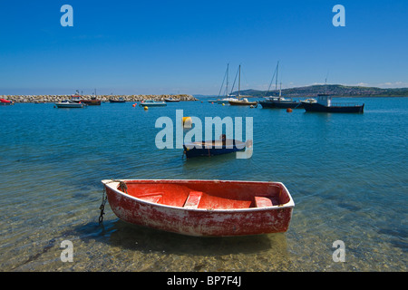 Rhos on Sea, Colwyn Bay, Beach, seafront, north Wales, UK - Stock Photo