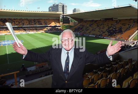 Wolverhampton Wanderers V Charlton Athletic at Molineux 13/9/97 3-1 Sir Jack Hayward after becoming Wolves Chairman. - Stock Photo