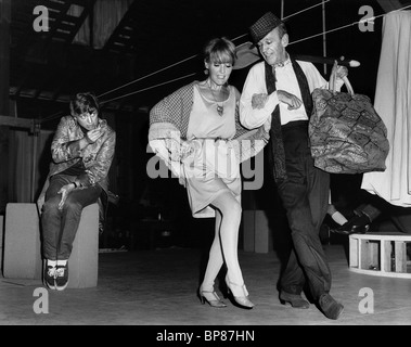 TOMMY STEELE, PETULA CLARK, FRED ASTAIRE, FINIAN'S RAINBOW, 1968 - Stock Photo