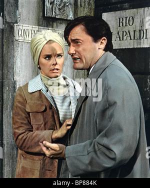 ELKE SOMMER, ROBERT VAUGHN, THE VENETIAN AFFAIR, 1966 - Stock Photo