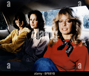 KATE JACKSON JACLYN SMITH FARRAH FAWCETT-MAJORS CHARLIE'S ANGELS (1977) - Stock Photo