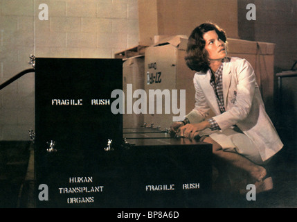 GENEVIEVE BUJOLD COMA (1978) - Stock Photo