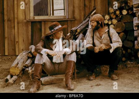 MARLON BRANDO, JACK NICHOLSON, THE MISSOURI BREAKS, 1976 - Stock Photo