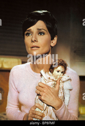 AUDREY HEPBURN, DOLL, WAIT UNTIL DARK, 1967 - Stock Photo