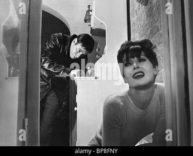 ALAN ARKIN, AUDREY HEPBURN, WAIT UNTIL DARK, 1967 - Stock Photo