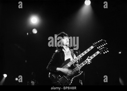 JIMMY PAGE THE SONG REMAINS THE SAME (1976) - Stock Photo