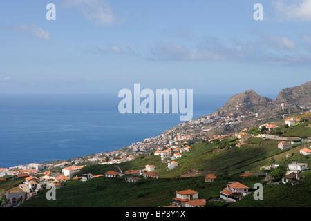 View over the vineyards ofthe Madeira Wine Company, Estreito de Camara de Lobos, Madeira, Portugal