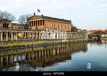 Alte Nationalgalerie (Old National Gallery)  Museum Island Berlin Germany - Stock Photo