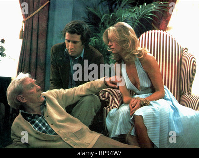 BURGESS MEREDITH, CHEVY CHASE, GOLDIE HAWN, FOUL PLAY, 1978