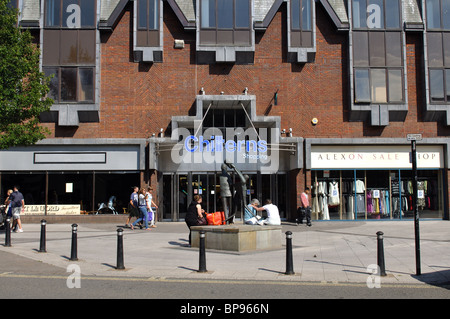 The Chilterns Shopping Centre, High Wycombe, Buckinghamshire, England, UK - Stock Photo