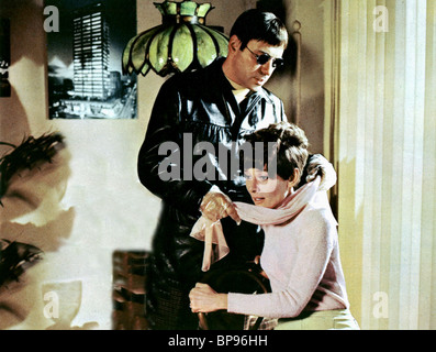 AUDREY HEPBURN, ALAN ARKIN, WAIT UNTIL DARK, 1967 - Stock Photo