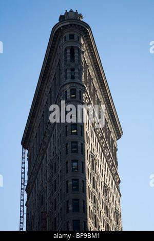 The Flatiron Building in Manhattan, New York City, USA - Stock Photo