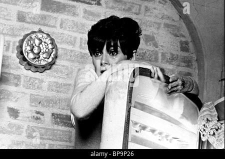 AUDREY HEPBURN WAIT UNTIL DARK (1967) - Stock Photo