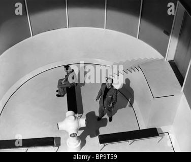 SCENE WITH EDMOND O'BRIEN 1984; NINETEEN EIGHTY-FOUR (1956) - Stock Photo