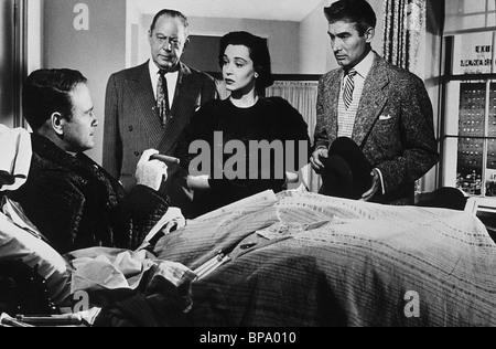 LEW AYRES, NANCY DAVIS, DONOVAN'S BRAIN, 1953 - Stock Photo
