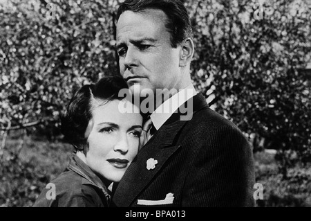 NANCY DAVIS, LEW AYRES, DONOVAN'S BRAIN, 1953 - Stock Photo