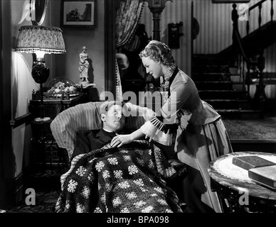SPENCER TRACY, RITA JOHNSON, EDISON  THE MAN, 1940 - Stock Photo