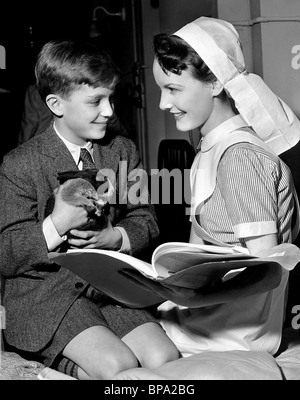 BRAND INGLIS, PETULA CLARK, WHITE CORRIDORS, 1951 - Stock Photo