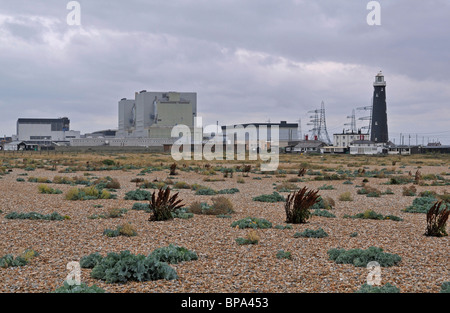 Nuclear Power Station at Dungeness, Kent, England, UK - Stock Photo