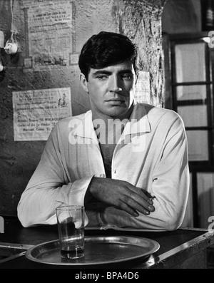 ALAN BATES THE RUNNING MAN (1963) - Stock Photo